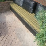 Upcycled fabrics for garden furniture