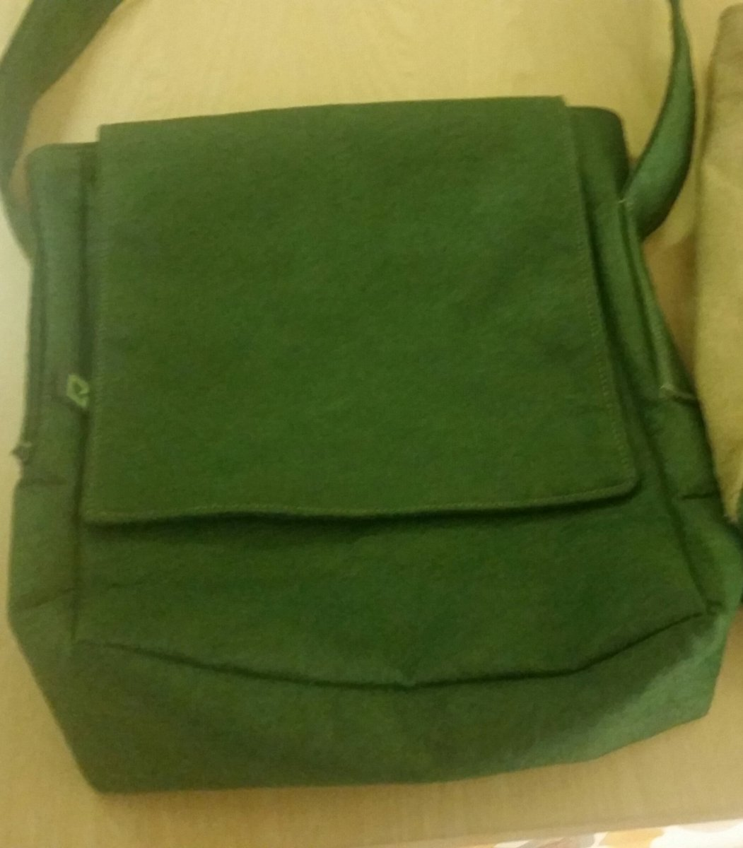A small messenger bag