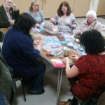 One of our community sewing extravanza events