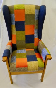 Bespoke range of patchwork chairs